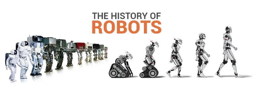 The Fascinating History Evolution Of Robots Cutting Tool Engineering