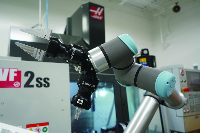 Boosting production capacity with 'brobots' | Cutting Tool