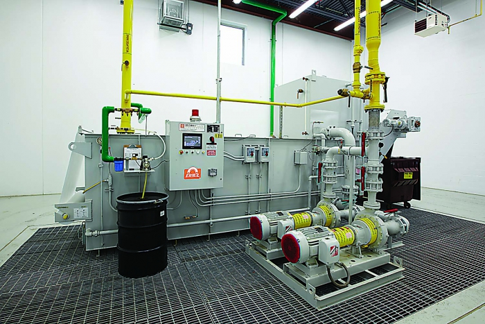 Advanced metalworking fluid filtration aids finer finish