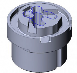 Simplified Cam For Advanced Edm Wire Cutting Cutting