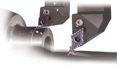Right Hand Megacoat 3 Cutting Edges 0.016 Corner Radius 0.189 Groove Width KYOCERA GBA43R189N PV7040 External Grooving Insert Cermet TIC//Tin GBA PV7040 Grade