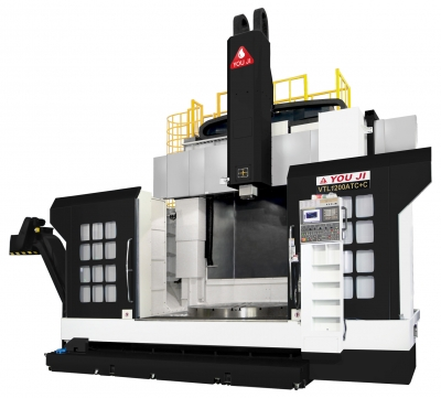 You Ji VTL-1200ATC+C Vertical Turning Lathe | Cutting Tool